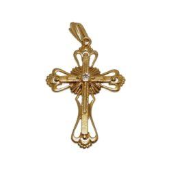 Крест с брилл.